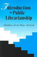 Introduction To Public Librarianship Book PDF