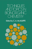 Techniques and Topics in Bioinorganic Chemistry
