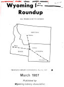 Wyoming Library Roundup