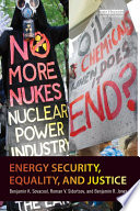 Energy Security Equality And Justice Book PDF