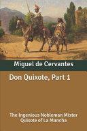 Don Quixote, Part 1