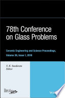 78th Conference on Glass Problems Book