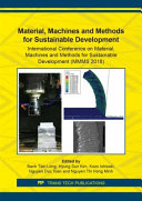 Material, Machines and Methods for Sustainable Development [Pdf/ePub] eBook