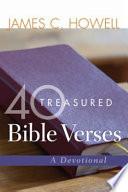 40 Treasured Bible Verses Book
