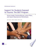 Support for Students Exposed to Trauma