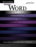 Signature Series  Advanced Microsoft Word 2013  Desktop Publishing