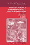 Pdf Economic Analysis of Investment Operations