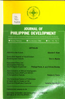 Journal Of Philippine Development