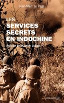Pdf Les services secrets en Indochine Telecharger