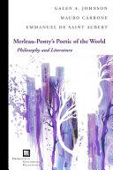 Merleau-Ponty's Poetic of the World [Pdf/ePub] eBook