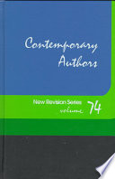 Contemporary Authors  : A Bio-Biblographical Guide to Current Writers in Fiction, General Nonfiction, Poetry, Journalism, Drama, Motion Pictures, Television, and Other Fields