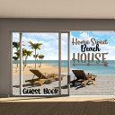Home Sweet Beach House Guest Book
