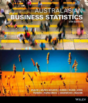 Cover of Australasian Business Statistics 4e