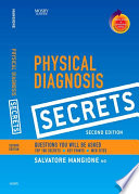 """Physical Diagnosis Secrets E-Book: With STUDENT CONSULT Online Access"" by Salvatore Mangione"