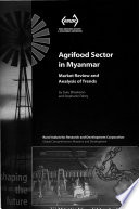 Agrifood Sector in Myanmar