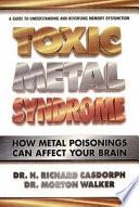 Toxic Metal Syndrome Book PDF