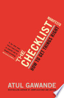 The Checklist Manifesto PDF