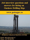 Job Interview Questions and Answers for Hiring on Onshore Drilling Rigs
