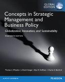 Concepts in Strategic Management and Business Policy  Global Edition