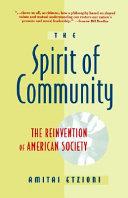 Pdf Spirit Of Community