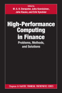 High Performance Computing in Finance
