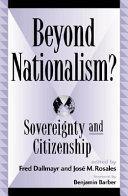 Beyond Nationalism