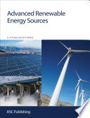 Advanced Renewable Energy Sources Book