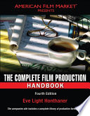The Complete Film Production Handbook Book PDF