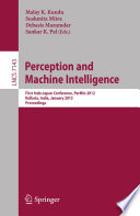 Perception and Machine Intelligence