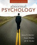 Abnormal Psychology Book