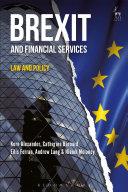 Brexit and Financial Services Pdf/ePub eBook