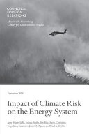 Impact of Climate Risk on the Energy System
