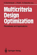 Multicriteria Design Optimization