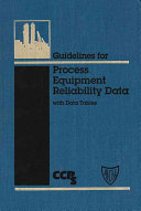 Guidelines for Process Equipment Reliability Data  with Data Tables Book