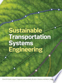 Sustainable Transportation Systems Engineering Book PDF