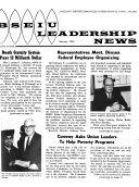 BSEIU Leadership News