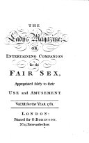 the ladys magazine or entretaing companion for the fair sex