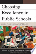 Choosing Excellence in Public Schools Book