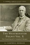 The Westminster Pulpit vol. X Pdf/ePub eBook