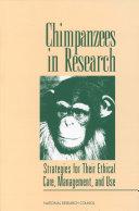 Chimpanzees in Research Pdf/ePub eBook