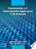 Fundamentals and Supercapacitor Applications of 2D Materials