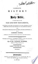 A Complete History of the Holy Bible