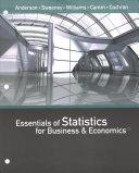 Essentials of Statistics for Business   Economics