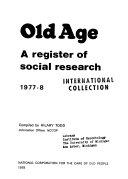 Old Age Book PDF