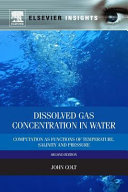 Dissolved Gas Concentration in Water  Computation as Functions of Temperature  Salinity and Pressure  Revised