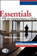 Pdf Essentials of Entrepreneurship