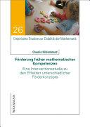 Förderung früher mathematischer Kompetenzen
