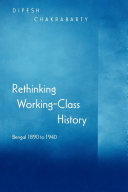 Rethinking Working class History