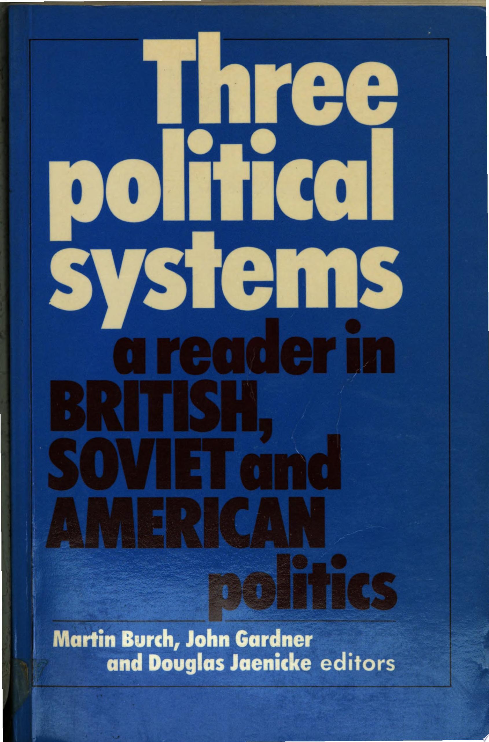 Three Political Systems