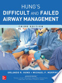 Management of the Difficult and Failed Airway  Third Edition Book
